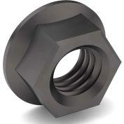 5/8-11 NE Hex Flange Nut - Grade 8 - Carbon Steel - Plain - Coarse - Pkg of 25