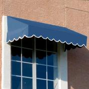 "Awntech EF23-4DB, Window/Entry Awning 4' 4-1/2"" W x 3'D x 2'H Dusty Blue"