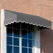 Awntech EF23-10G, Window/Entry Awning 10-3/8'W x 2'H x 3'D Gray