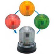 Edwards Signal 125XBRIRBA24D Chameleon Multi-Status Indicator Red Blue Amber Black Base 24V DC