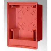 Edwards Signaling, 2459-SMB-R, Surface Box, Red, Indoor