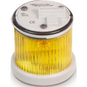 Edwards Signaling 248LEDMY24AD 48 Mm LED Stacklight Module Yellow 24V AC/DC
