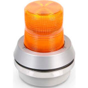 Edwards Signaling 51A-N5-40W Flashing Beacon With Horn Amber 120V AC
