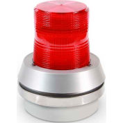 Edwards Signaling 51R-N5-40W Flashing Beacon With Horn Red 120V AC