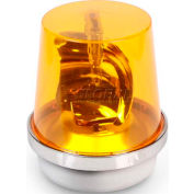 Edwards Signaling 52A-N5-40WH Rotating Beacon Amber 120V AC
