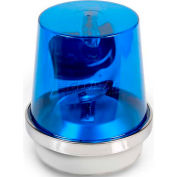 Edwards Signaling 52B-N5-40WH Rotating Beacon Blue 120V AC