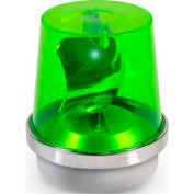 Edwards Signaling 52G-N5-40WH Rotating Beacon Green 120V AC
