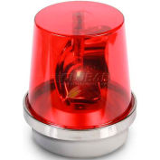 Edwards Signaling 52R-N5-40WH Rotating Beacon Red 120V AC
