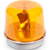 Edwards Signaling 58A-N5-100WH Rotating Beacon 100WH Amber 120V AC