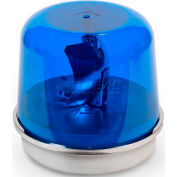 Edwards Signaling 58B-N5-100WH Rotating Beacon 100WH Blue 120V AC