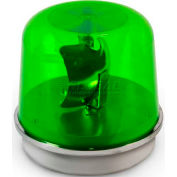 Edwards Signaling 58G-N5-100WH Rotating Beacon 100WH Green 120V AC