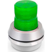 Edwards Signaling 95G-N5 Xenon Strobe With Horn Green 120V AC