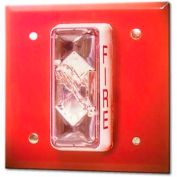 Edwards Signaling, CS405-7A-T, Weatherproof Strobe 15/75 CD