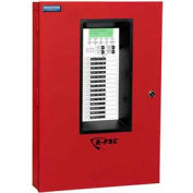 Edwards Signaling, E-FSC502R, Conventional Fire Alarm Control Panels, 5 Zone, 120V, Red