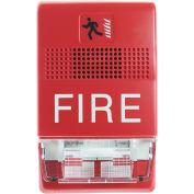 Edwards Signaling, EG1RF-VM, Genesis Strobe, Multi-Cd, Red, Marked Fire