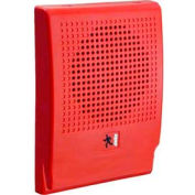 Edwards Signaling, EG4R-S2, Wall Speaker, 25 V, Red