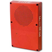 Edwards Signaling, WG4WF-S, Outdoor Speaker, White, Fire