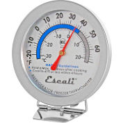 Escali® AHF1-Refrigerator-Freezer Thermometer NSF Listed