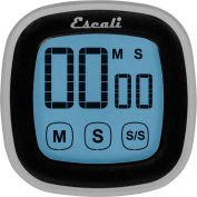 Escali® DR3-B-Touch Screen Digital Timer, Black