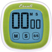 Escali® DR3-G-Touch Screen Digital Timer, Green