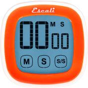 Escali® DR3-O-Touch Screen Digital Timer, Orange