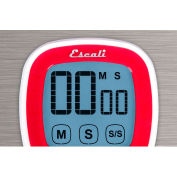 Escali® DR3-R-Touch Screen Digital Timer, Red