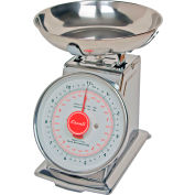 Dial Scale 11lb x 1oz/5kg x 20g With Stainless Steel Bowl