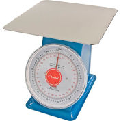 Escali DS13260P Mechanical Dial Scale, 132lb x 0.5oz/60kg x 0.2g, Stainless Steel