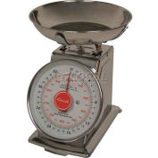 Dial Scale 2lb x 0.25oz/1kg x 5g With Stainless Steel Bowl
