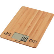 Digital Kitchen Scale 15lb x 0.1oz/7000g x 1g, Bamboo Surface
