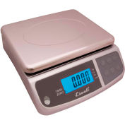 Escali M6630 M-Series Digital Kitchen Scale, 66lbs x 0.2oz/30kg x 5kg, Stainless Steel