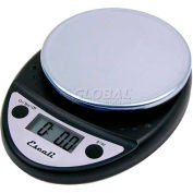 Digital Kitchen Scale 11lb x 0.1oz/5000g x 1g Black NSF