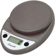 Digital Kitchen Scale 11lb x 0.1oz/5000g x 1g Metallic