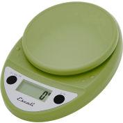 Escali P115TG Primo Digital Kitchen Scale, 11lb x 0.1oz/5000g x 1g, Green