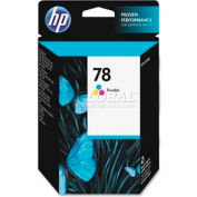 HP® 78 Ink Cartridge C6578DN, Tri-Color