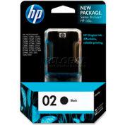 HP® 02 Ink Cartridge C8721WN, Black