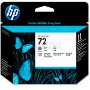 HP® 72 Printhead C9380A, Gray and Photo Black
