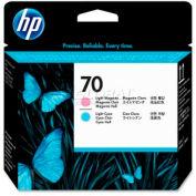 HP® 70 Printhead C9405A, Light Magenta and Light Cyan
