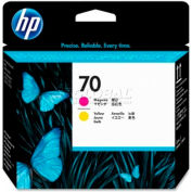 HP® 70 Printhead C9406A, Magenta and Yellow