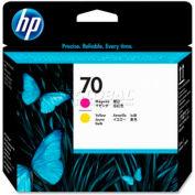 HP® 70 Printhead C9406A, Magenta and Yellow