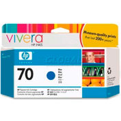 HP® 70 Ink Cartridge C9458A, Blue