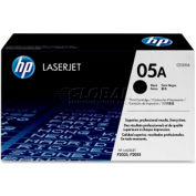 HP® 05A Toner Cartridge CE505A, Black