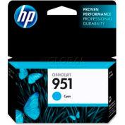 HP® 951 Ink Cartridge CN050AN, Cyan