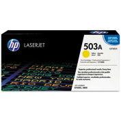 HP® HP 503A, (Q7582A) Yellow Original LaserJet Toner Cartridge