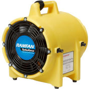 "Euramco Safety 8"" Confined Space Blower ED7002 1/3 HP 980 CFM"