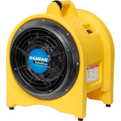 "Euramco Safety 12"" Confined Space High Volume Blower/Exhauster EJ4002 5/8 HP 2420 CFM"
