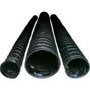 "EckoFlex 16"" Conductive Duct - Black, 25'L with Strap FDT1625CBR"