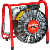 "Euramco Safety 16"" Gasoline PPV Fan Turbo Blower GB5001HSE 5 HP 10058 CFM"