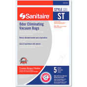 Style ST Disposable Vacuum Bags for SC600 & SC800 Series, 5/Pack, 50/Case - EUR63213B10CT