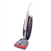 """Sanitaire® 12"""" Commercial Bag-Style Upright Vacuum W/ Micron Filter®, Gray/Red - EUKSC679J"""